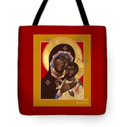 The Petrovskya Icon Of The Mother Of God 128 Tote Bag