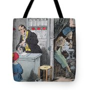 The Pharmacist And His Assistant Tote Bag