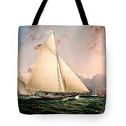 The Philip R. Paulding In New York Harbor Tote Bag