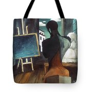 The Philosopher And The Poet Tote Bag