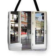 The Photographer And His Doppelganger Tote Bag