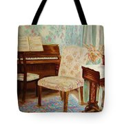 The Piano Room Tote Bag