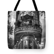 The Pickle Barrel 3 B W Flatiron Architecture Chattanooga Tennessee Art Tote Bag