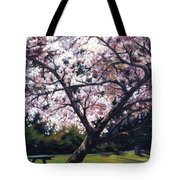 The Picnic Table Tote Bag