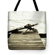 An Old Pier Tote Bag