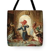 The Pillow Fight Tote Bag