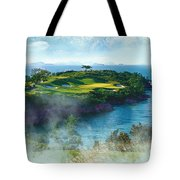 The Pine And Beach Links Tote Bag