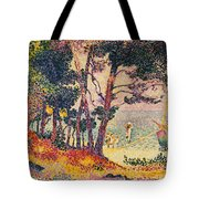 The Pine Wood, Provence Tote Bag