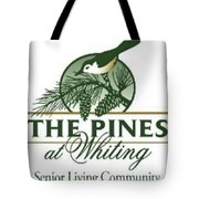 The Pines At Whiting Tote Bag
