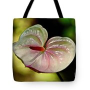 The Pink And Green Heart Tote Bag