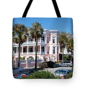 The Pink Battery House Tote Bag