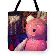 The Pink Bear Tote Bag