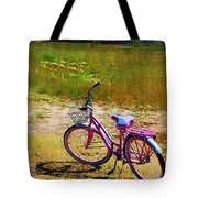 The Pink Bike Tote Bag
