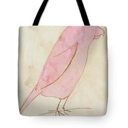 The Pink Bird Tote Bag