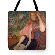 The Pink Cape Tote Bag
