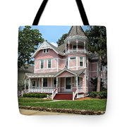 The Pink House 2 Tote Bag