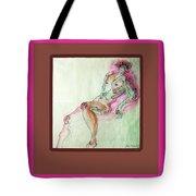 The Pink Man  Tote Bag