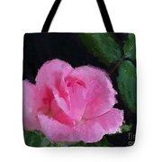 The Pink Rose Tote Bag