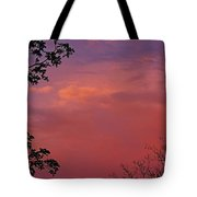 The Pink Sky Tote Bag