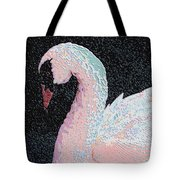 The Pink Swan Tote Bag
