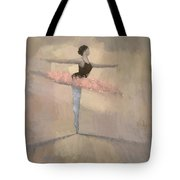 The Pink Tutu Tote Bag by Steve Mitchell