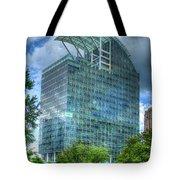 The Pinnacle Reflections Office Buildings Buckhead Atlanta Art Tote Bag