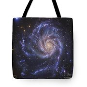 The Pinwheel Galaxy, Also Known As Ngc Tote Bag