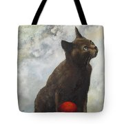 The Pious Cat Tote Bag
