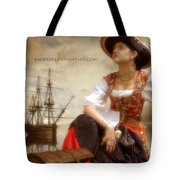 The Pirate Queen Tote Bag
