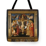 The Pistoia Santa Trinita Altarpiece Tote Bag