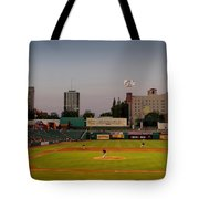 The Pitch Tote Bag