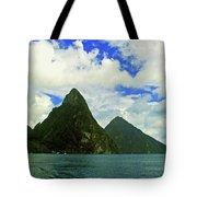 The Pitons Tote Bag