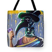 The Plague Doctor Tote Bag