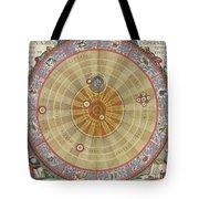 The Planisphere Of Copernicus Harmonia Tote Bag
