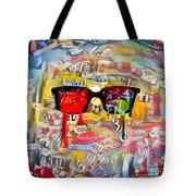 The Plasticity Of Dreams Tote Bag