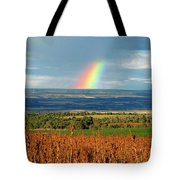 The Pleasant View Rainbow Tote Bag