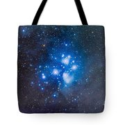 The Pleiades, Also Known As The Seven Tote Bag