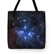 The Pleiades, Also Known As The Seven Tote Bag by Roth Ritter