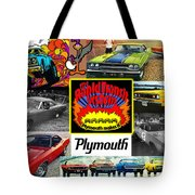 The Plymouth Rapid Transit System Collage Tote Bag