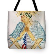 The Poet Laureate With Flute Tote Bag