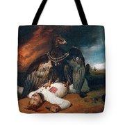 The Polish Prometheus Horace Vernet Tote Bag