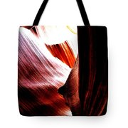 The Polished Rocks Of Lower Antelope Canyon Tote Bag