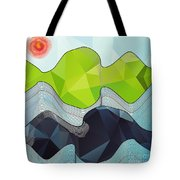 The Poly Landscape Tote Bag