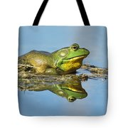 The Pond King Tote Bag by Mircea Costina Photography