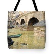 The Pont Marie. Paris Tote Bag