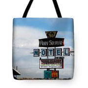 The Pony Soldier Motel On Route 66 Tote Bag