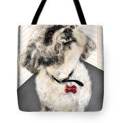 The Pooch With The Crooked Tooth Tote Bag