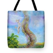 The Poodle Bridge Tote Bag