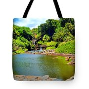 The Pools Of Ohe'o Tote Bag