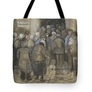 The Poor And Money The Hague, September - October 1882 Vincent Van Gogh 1853  1890 Tote Bag
